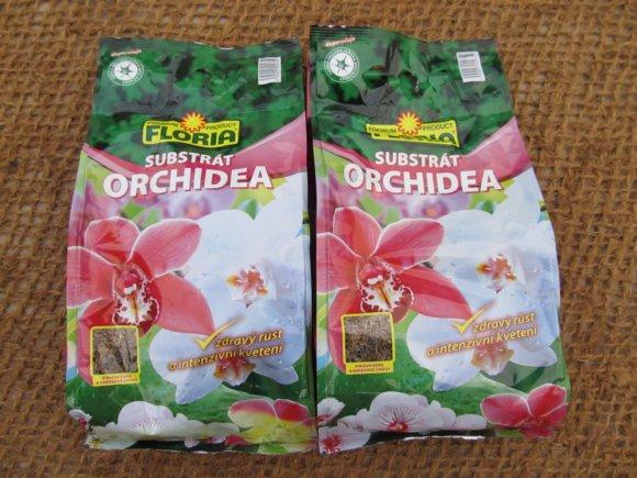 Substráty pro orchideje