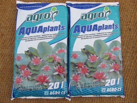 Substrát pro vodní rostliny