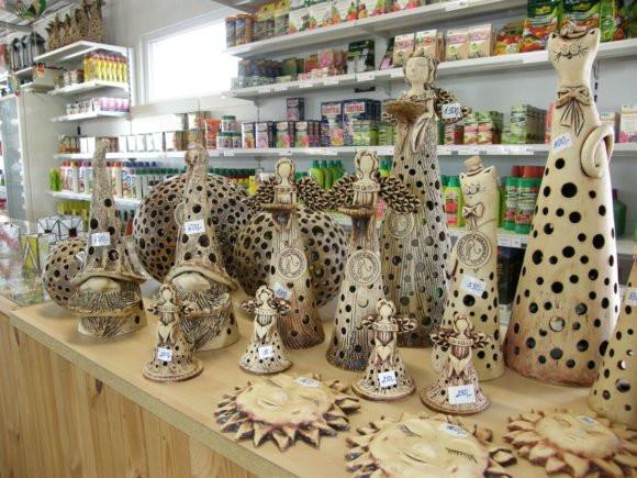 Šamotová keramika.